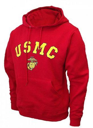 Mikina ROTHCO® U.S.M.C. červená