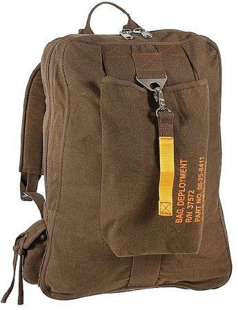 Batoh ROTHCO® FLIGHT BAG hnědá