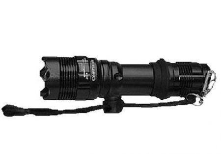 Svítilna taktická COMMANDO TACTICAL TRACER 1LED Q5 černá