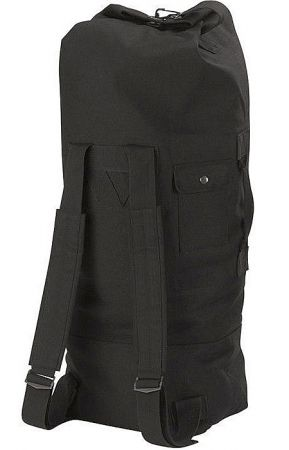 Vak ROTHCO® G.I. TYPE DUFFLE BAG bavlna černá