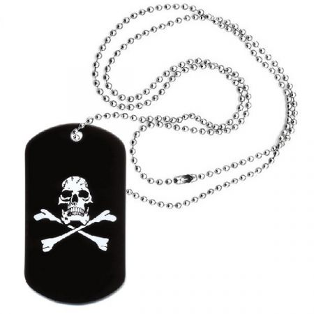 Dog Tag ROTHCO® JOLLY ROGER