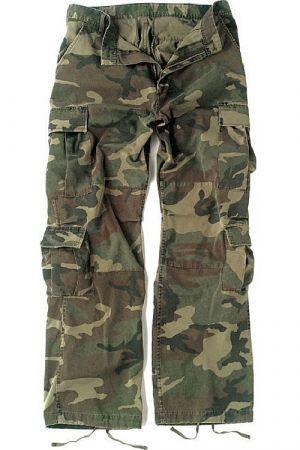 Kalhoty ROTHCO® PARATROOPER VINTAGE woodland