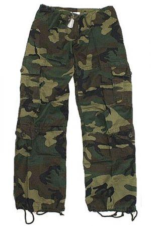 Dámské kalhoty ROTHCO® PARATROOPER woodland camo