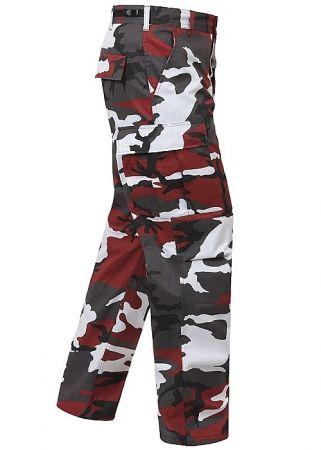 Kalhoty ROTHCO® BDU red camo