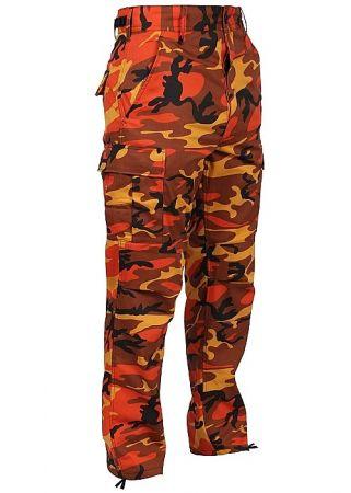 Kalhoty ROTHCO® BDU savage orange camo