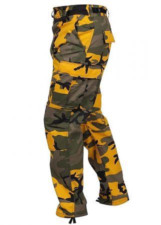 Kalhoty ROTHCO® BDU stinger yellow camo