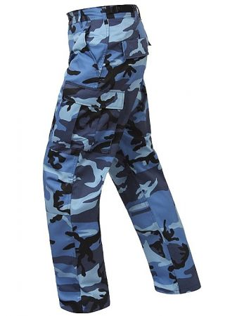 Kalhoty ROTHCO® BDU sky blue camo