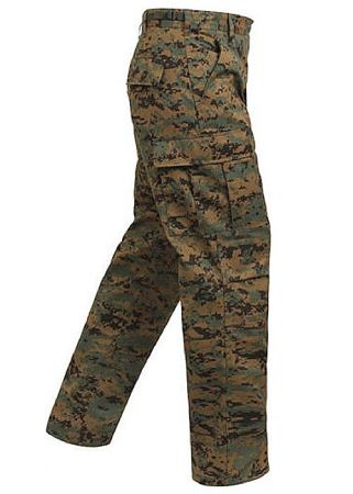 Kalhoty ROTHCO® BDU woodland digital camo