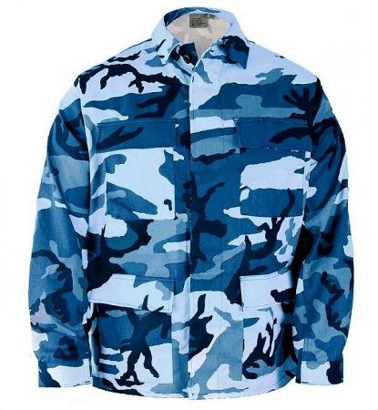 Blůza ROTHCO® BDU sky blue camo