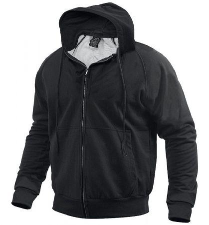 Mikina ROTHCO® THERMAL zip černá