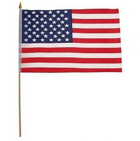 Vlajka USA 30 x 45cm s tyčkou