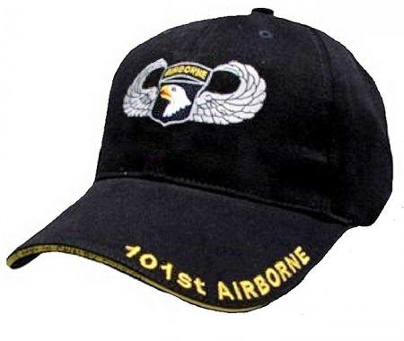 Čepice 101ST AIRBORNE černá