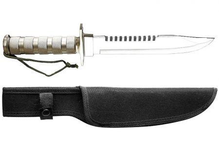 Nůž COMMANDO SURVIVAL stříbrná