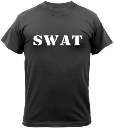 Tričko ROTHCO® S.W.A.T. černá
