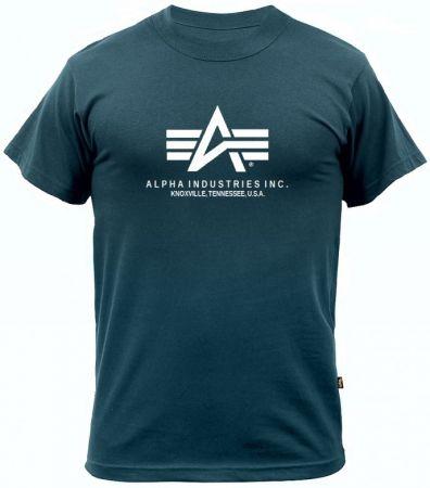 Tričko ALPHA INDUSTRIES BASIC navy