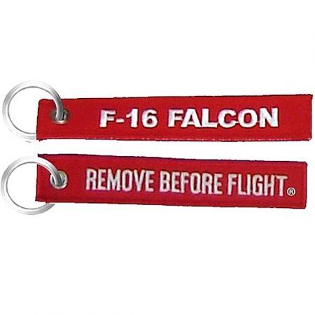 Přívěsek F-16 FALCON RBF červená