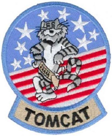 Nášivka F-14 TOMCAT barevná