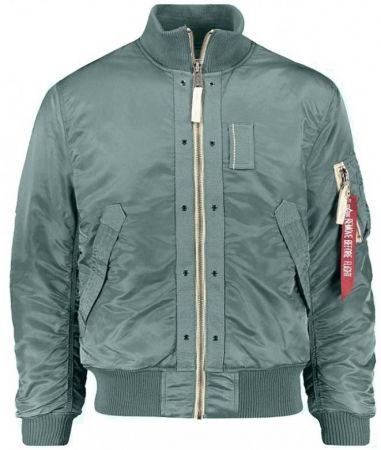 Bunda ALPHA INDUSTRIES TOP GUN vintage green