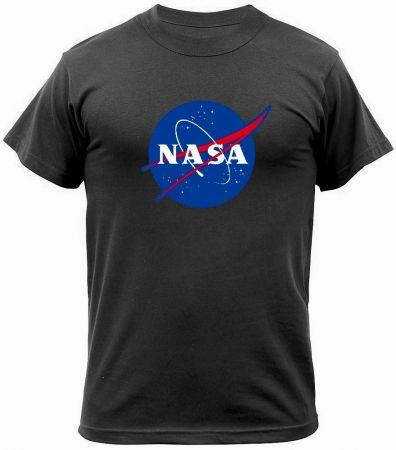 Tričko ROTHCO® NASA černá