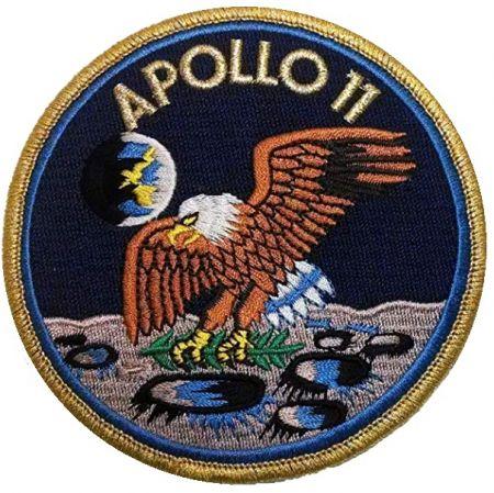 Nášivka APOLLO 11 barevná