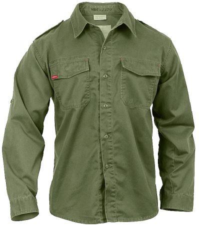 Košile ROTHCO® VINTAGE FATIGUE dlouhý rukáv oliva