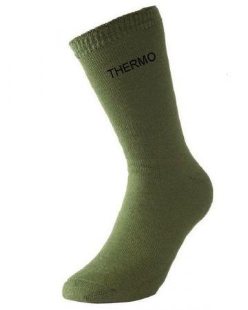 Ponožky THERMO oliva