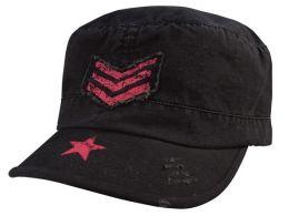 Dámská čepice ROTHCO® FATIGUE černá & stripes