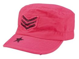 Dámská čepice ROTHCO® FATIGUE pink & stripes