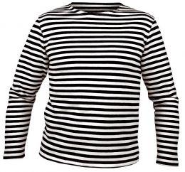 Tričko MARINES RUSKÉ dlouhý rukáv černobílá