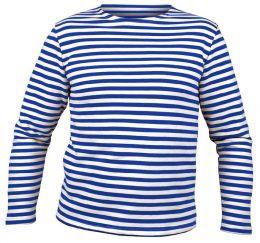 Tričko MARINES RUSKÉ dlouhý rukáv modrobílá