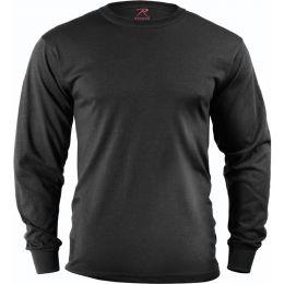 Tričko ROTHCO® ARMY dlouhý rukáv černá
