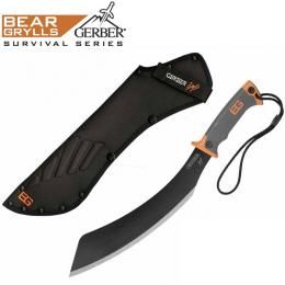 Mačeta GERBER® BEAR GRYLLS PARANG SURVIVAL 29cm černá