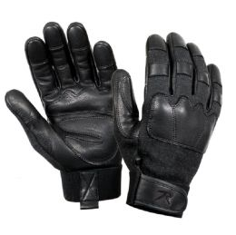 Rukavice ROTHCO® TACTICAL kůže černá