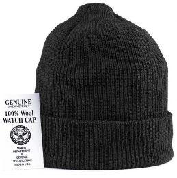 Čepice ROTHCO ORIGINAL WATCH CAP vlna černá