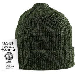Čepice ROTHCO ORIGINAL WATCH CAP vlna oliva