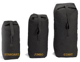 Vak ROTHCO® DUFFLE BAG GIANT bavlna černá
