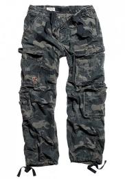 Kalhoty SURPLUS AIRBORNE VINTAGE black camo