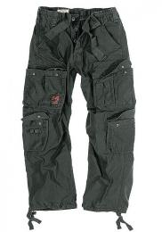 Kalhoty SURPLUS AIRBORNE VINTAGE černá