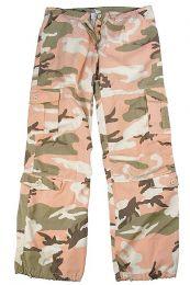 Dámské kalhoty ROTHCO® PARATROOPER pink camo