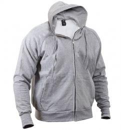Mikina ROTHCO® THERMAL zip šedá
