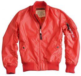 Dámská bunda ALPHA INDUSTRIES MA-1 TT červená