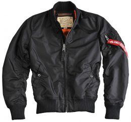 Dámská bunda ALPHA INDUSTRIES MA-1 TT černá
