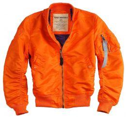 Dámská bunda ALPHA INDUSTRIES MA-1 VF LW oranžová