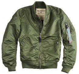 Dámská bunda ALPHA INDUSTRIES MA-1 VF LW zelená