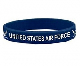 Náramek UNITED STATES AIR FORCE modrá
