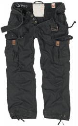 Kalhoty SURPLUS PREMIUM VINTAGE černá