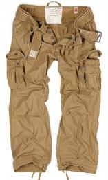 Kalhoty SURPLUS PREMIUM VINTAGE khaki