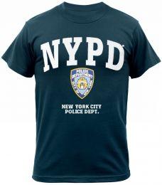 Tričko ROTHCO® N.Y.P.D. velké logo modrá