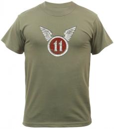 Tričko ROTHCO® 11TH AIRBORNE oliva