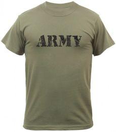 Tričko ROTHCO® ARMY oliva